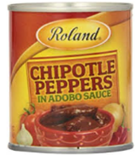 Picture of Roland - Chipotle Peppers in Adobo - 7 oz can, 12/case
