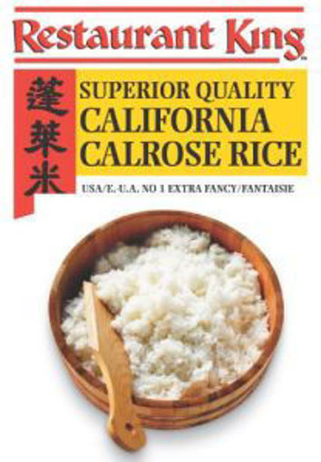 Picture of Restaurant King - Calrose Sushi Rice - 50 lbs