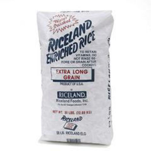 Picture of Riceland - Long Grain Rice, 4% broken - 50 lb Bag