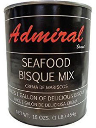 Picture of Admiral - Seafood Bisque Base - 1 lb Jar, 12/case