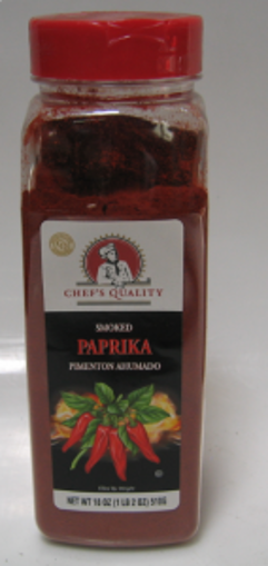Picture of Chefs Quality - Smoked Paprika - 18 oz, 12/case