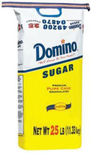 Picture of Domino - Granulated Sugar - 25 lbs