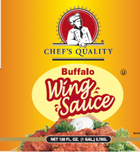 Picture of Chefs Quality - Buffalo Wing Sauce - gallon, 4/case