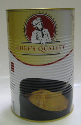 Picture of Chefs Quality - Traditional Smooth Mustard - 8.6 lbs, 6/case