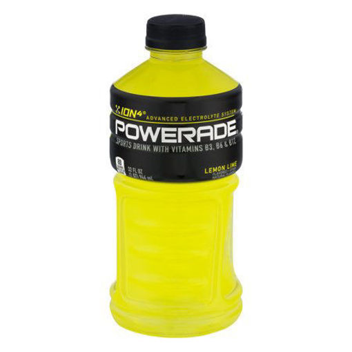 Picture of Powerade Sports Drink - Lemon Lime - 28 oz, 15/case
