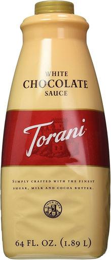 Picture of Torani - White Chocolate Sauce - 64 oz, 4/case
