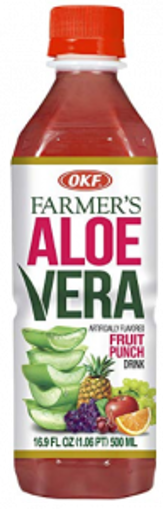 Picture of OKF - Aloe Vera, Fruit Punch - 12/16.9 Oz