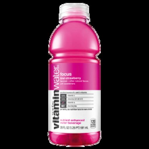 Picture of VitaminWater - Focus, Kiwi Strawberry - 12/20 oz