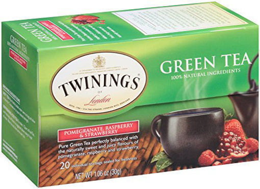 Picture of Twinings - Green, Pomegranate, Raspberry, & Strawberry Tea - 25 Ct, 6/case