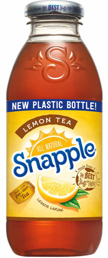 Picture of Snapple - Lemon Tea - 16 oz, 12/case