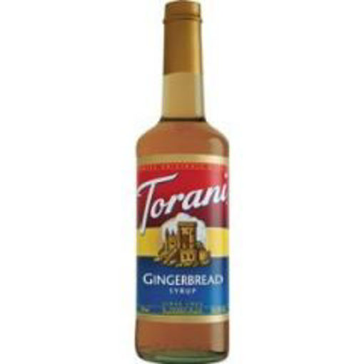 Picture of Torani - Gingerbread Syrup - 750 ml, 12/case