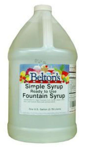 Picture of Beltons - Simple Syrup - 1 gallon, 4/case