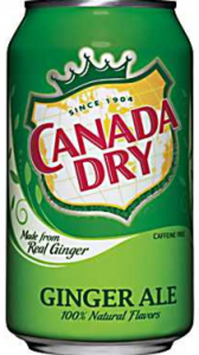 Picture of Canada Dry - Ginger Ale - 24/12 oz cans