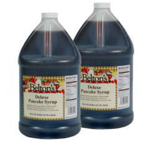 Picture of Belton Foods - Pancake Syrup w 5% maple syrup - gallon Jug, 4/case
