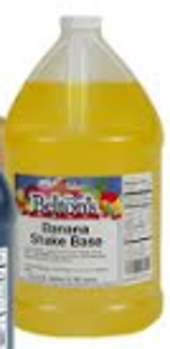 Picture of Beltons - Banana Flavored Syrup - gallon, 4/case