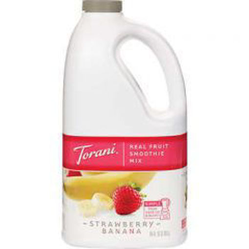 Picture of Torani - Strawberry Banana Smoothie Mix - 64 oz, 6/case