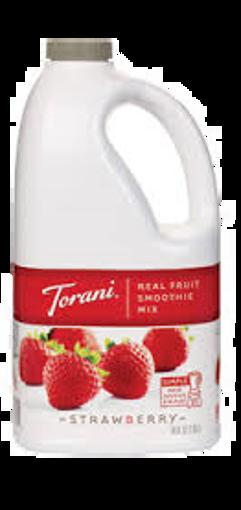 Picture of Torani - Strawberry Smoothie Mix - 64 oz, 6/case