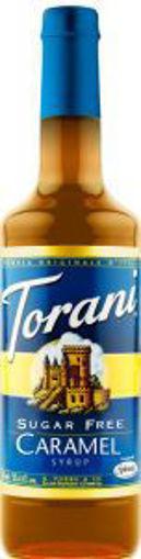 Picture of Torani - Sugar-Free Caramel Syrup - 750 ml, 12/case