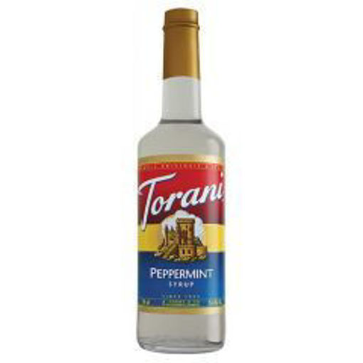 Picture of Torani - Peppermint Syrup - 750 ml, 12/case