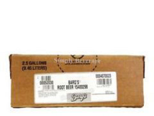 Picture of Barqs Root Beer - 2.5 gallon bag-in-box syrup