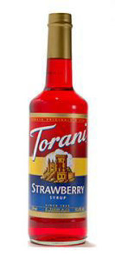 Picture of Torani - Strawberry Syrup - 750 ml, 12/case