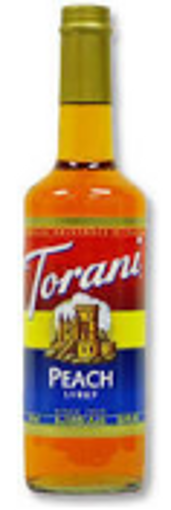 Picture of Torani - Peach Syrup - 750 ml Bottle, 12/case
