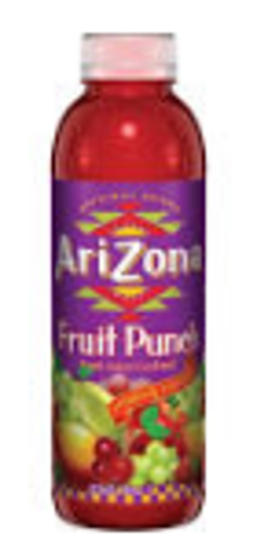 Picture of Arizona - Fruit Punch - 24/20 oz plastic bottle