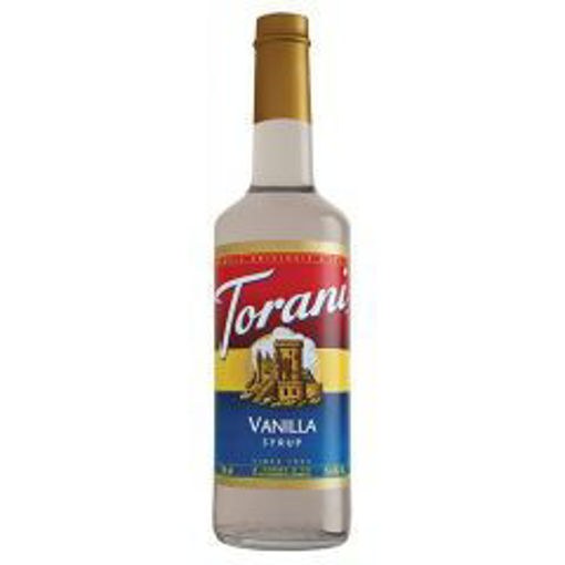 Picture of Torani - Vanilla Syrup - 750 ml, 12/case