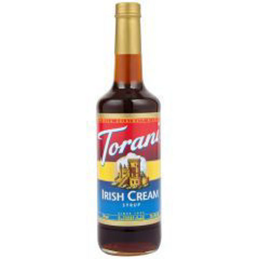 Picture of Torani - Irish Cream Syrup - 750 ml, 12/case