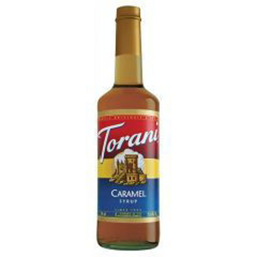 Picture of Torani - Caramel Syrup - 750 ml, 12/case