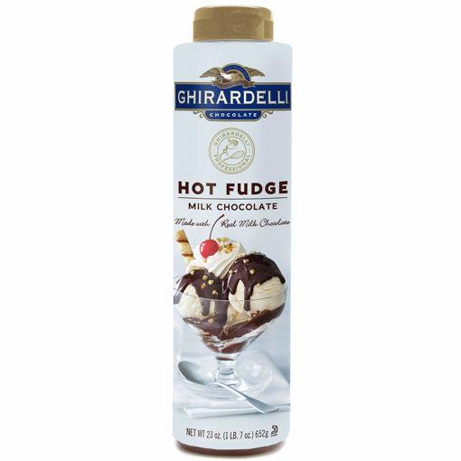 Picture of Ghirardelli - Hot Fudge Squeeze Bottle - 23 oz, 12/case