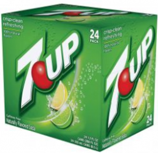 Picture of 7-Up Soda - 24/12 oz cans