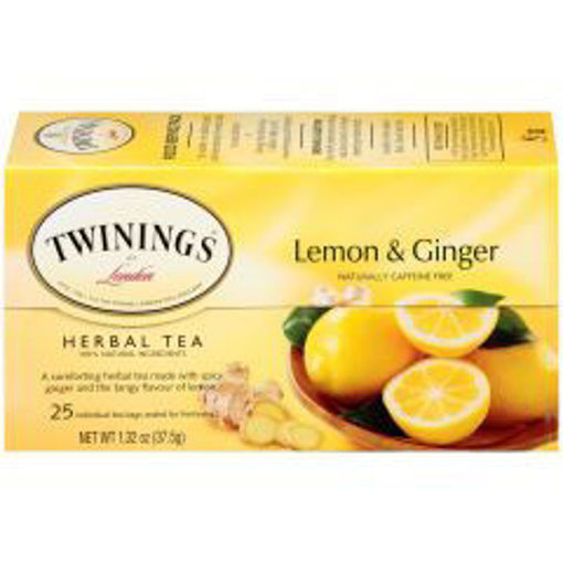 Picture of Twinings - Lemon Ginger Tea - 25 Ct, 6/case