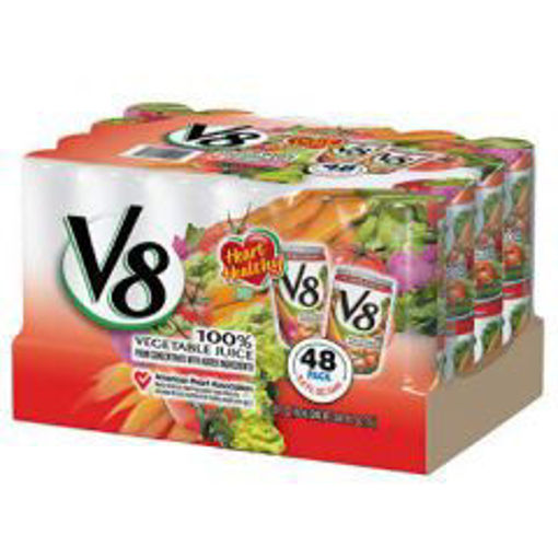 Picture of V8 - Vegetable Juice - 48/5.5 oz cans