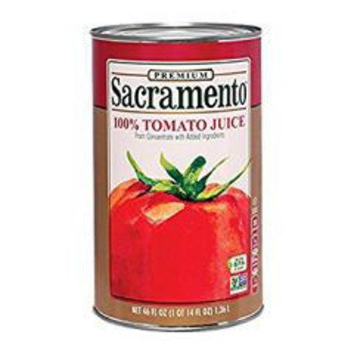 Picture of Sacramento - Tomato Juice - 46 oz, 8/case