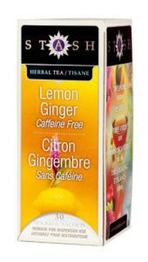 Picture of Stash - Lemon Ginger Tea - 30 ct, 6/case