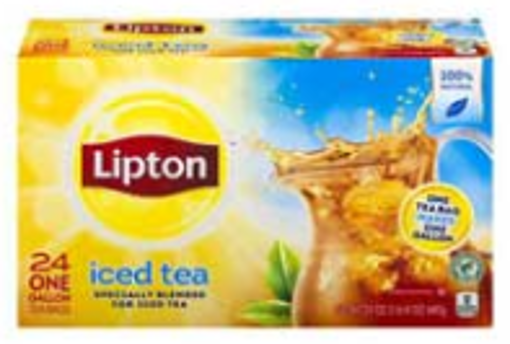Picture of Lipton - Iced Tea Bags - 24 ct, 4/case