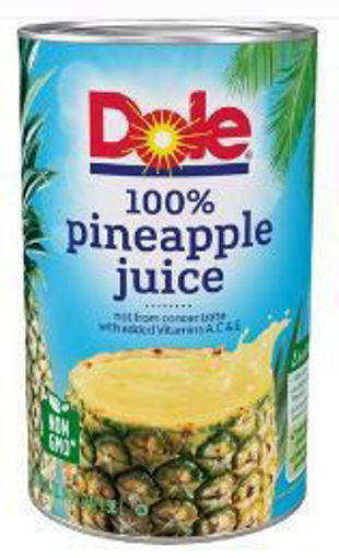 Picture of Dole - Pineapple Juice - 46 oz cans, 12/case