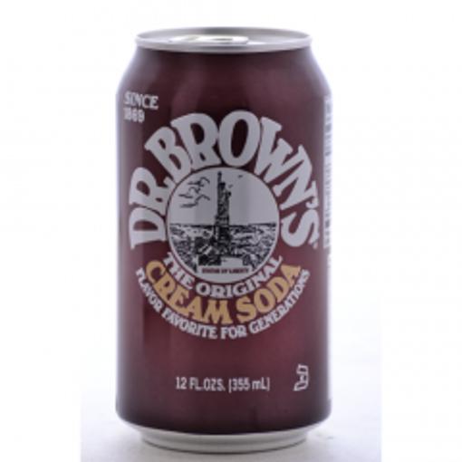 Picture of Dr. Brown's - Cream Soda - 12 oz, 24/case