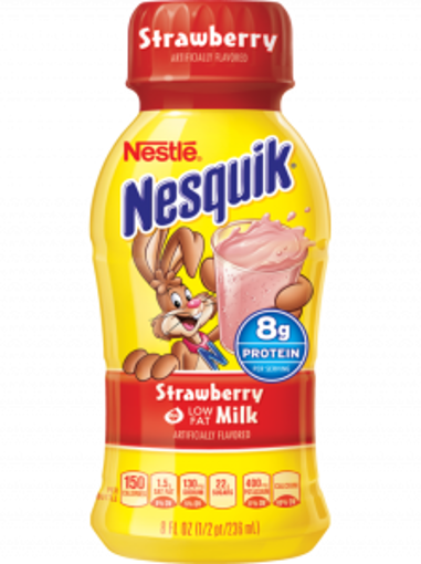 Picture of Nesquik - Strawberry Beverage - 12/14 oz