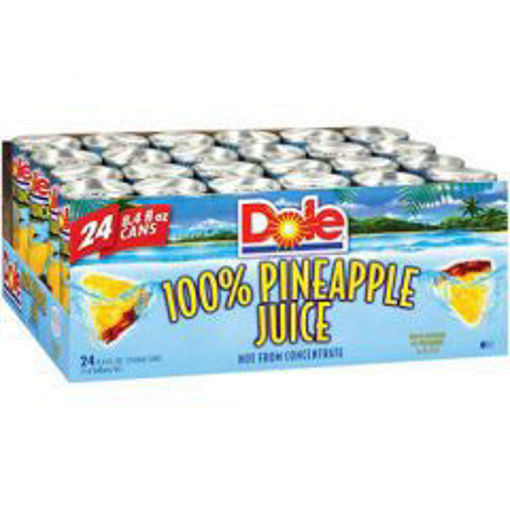 Picture of Dole - Pineapple Juice - 24/8.4 oz cans