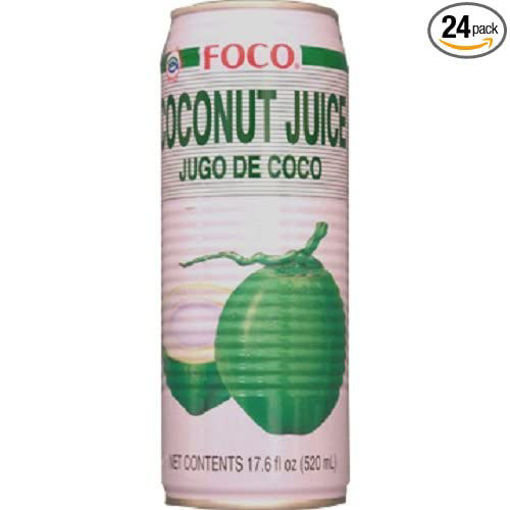 Picture of Foco - Coconut Juice - 24/17.6 oz cans