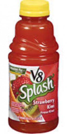 Picture of V8 Splash- Strawberry Kiwi- 12/16 oz plastic bottles