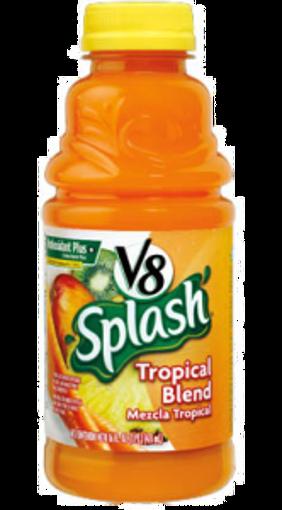 Picture of V8 Splash - Tropical Blend - 12/16 oz plastic bottles