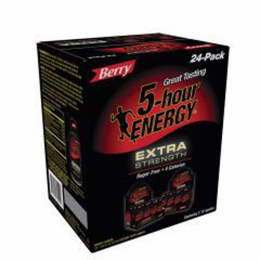 Picture of 5-Hour Energy Extra Strength Berry Flavor - 24 ct
