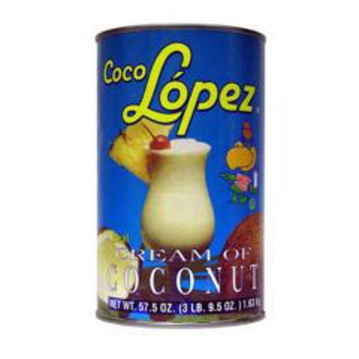 Picture of Coco Lopez - Cream of Coconut - 57 oz Can, 12/case