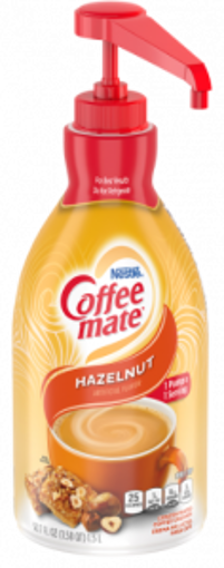 Picture of Coffee mate - Hazelnut Creamer Pump- 1.5 Ltr, 2/case