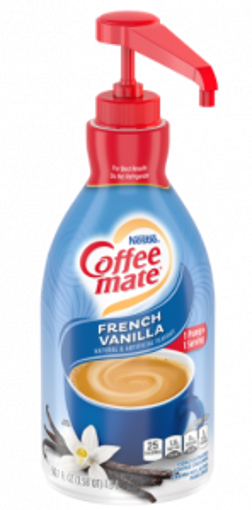 Picture of Coffee mate - French Vanilla Creamer Pump - 1.5 Ltr, 2/case
