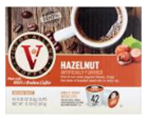 Picture of Victor Allens - Single Serve Hazelnut Coffee - 42 ct