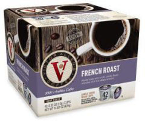 Picture of Victor Allens - Single Serve French Roast Coffee - 42ct
